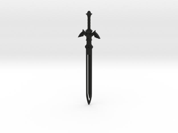 Zelda Master Sword Bookmark