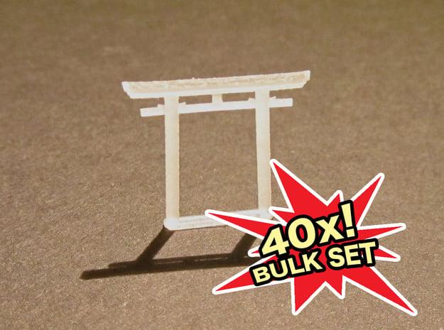 Torii, Myōjin small 40x, N-gauge in Smooth Fine Detail Plastic