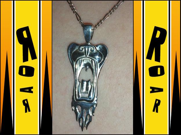 Roar! in Polished Silver