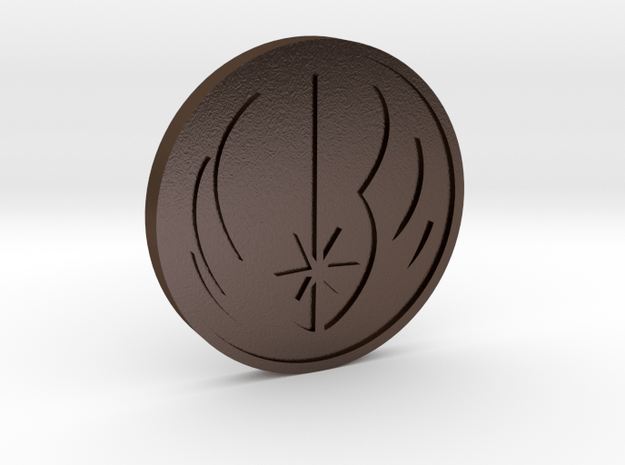 Rebels Coin in Polished Bronze Steel