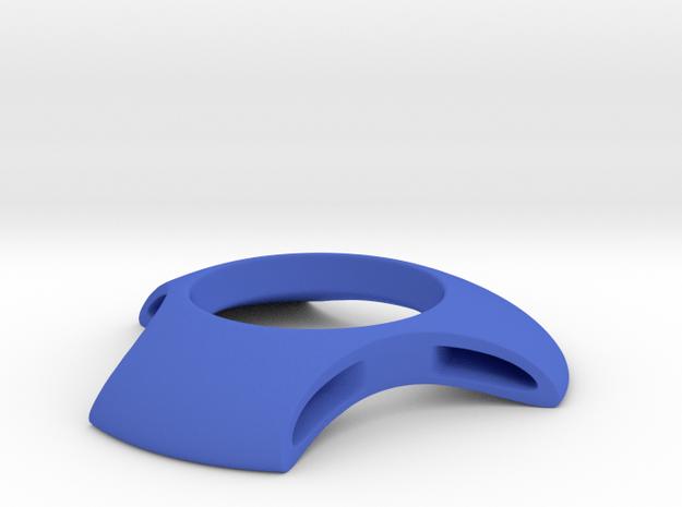 Bio Egg Cup in Blue Processed Versatile Plastic