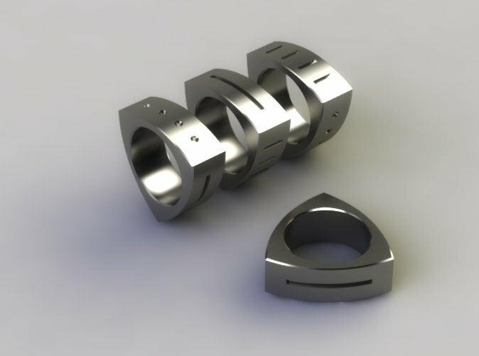 Polished Steel Render