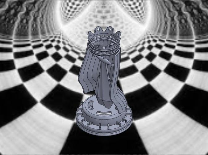 King-Isometric View