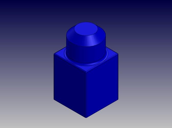 Single Block-Isometric View