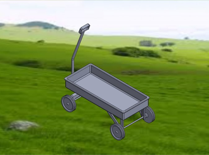 Wagon-Isometric View