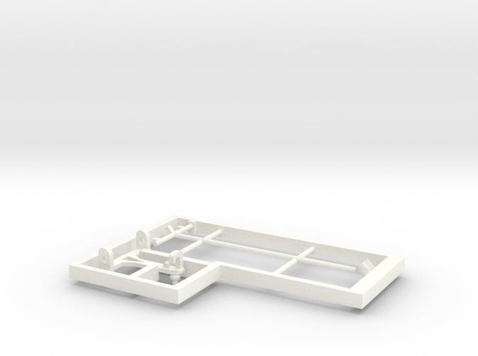 Pantograph for freelance model electric loco E13