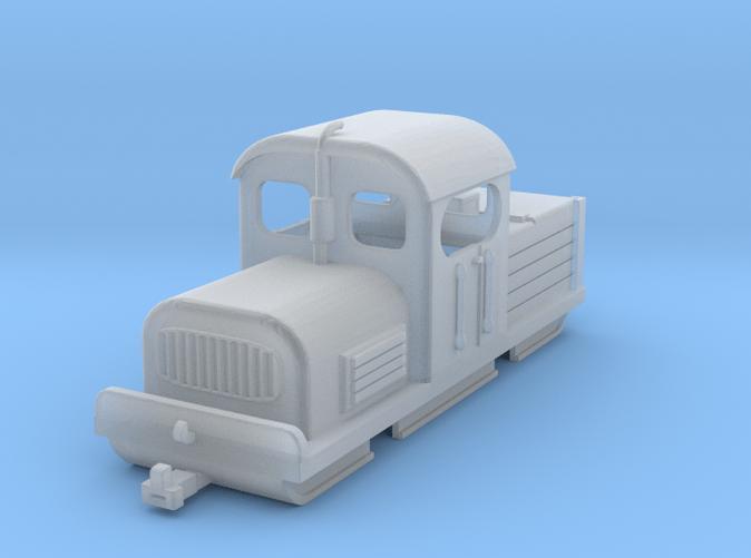 Narrow gauge industrial diesel shunter H0e/H0n30