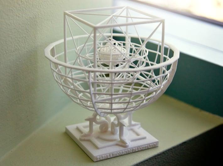 Kepler's Platonic Solids Model of the Solar System 3d printed