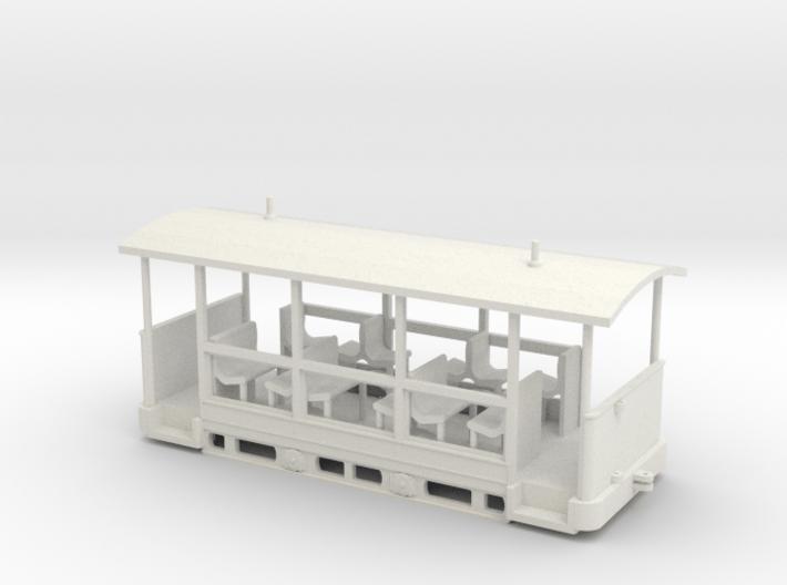 Straßenbahn-Sommerwagen (ex Barmer Bergbahn) H0 16 3d printed