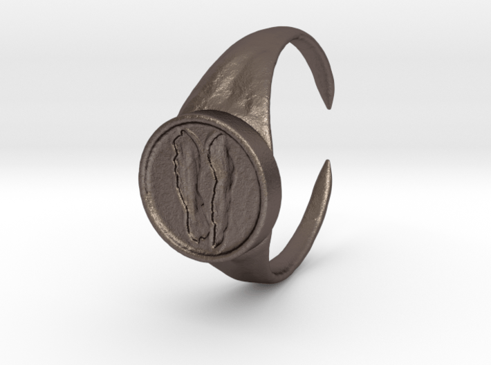 Crest of the Rat, Size 8.5 3d printed