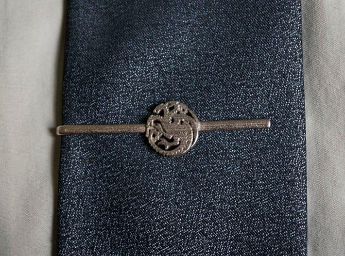 Game of Thrones: House Targaryen Tie Clip 3d printed