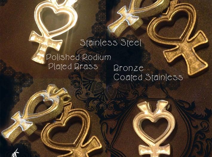 Sailor Mercury Symbol Pendant 3d printed