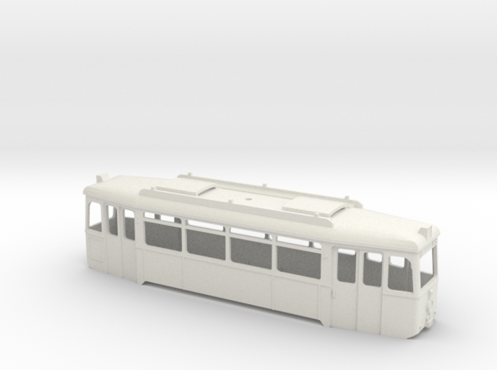Verbandstyp II Triebwagen Wagenkasten Rhein-Neckar 3d printed