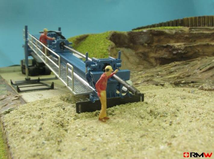 HO/1:87 HD Drilling crawler, kit 3d printed [en]painted and assembled [de]bemalt und gebaut