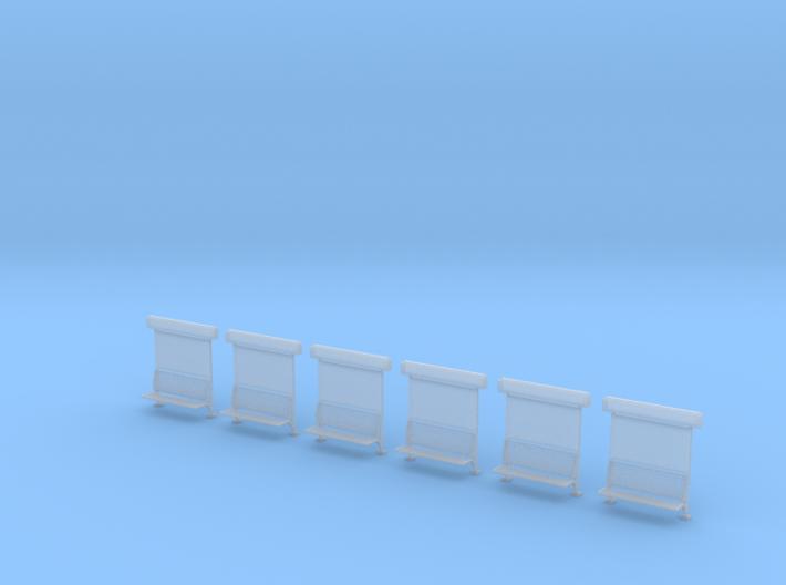 Perron bankje met naam - Enkelzijdig 3d printed