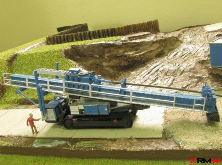 HO/1:87 HD Drilling crawler, kit 3d printed