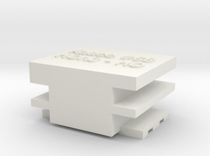 HO-HOn3 Coupler Gauge 3d printed