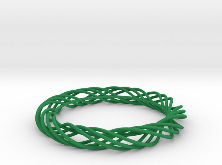 Twist Bangle C02M 3d printed