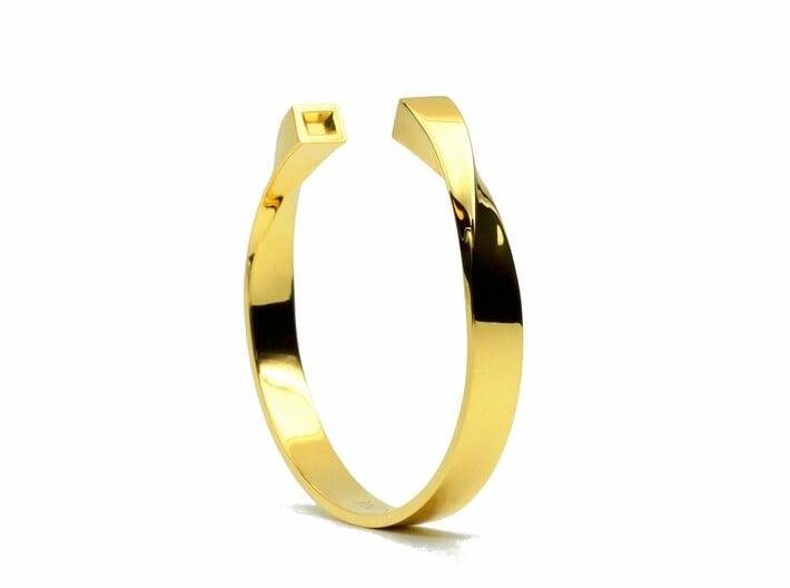 Unparalleled Bracelet 3d printed