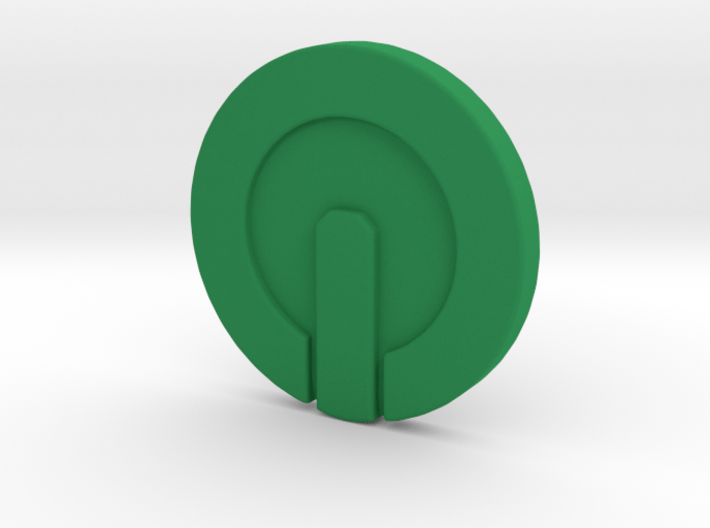 Onslaught token for Slaughterball 3d printed