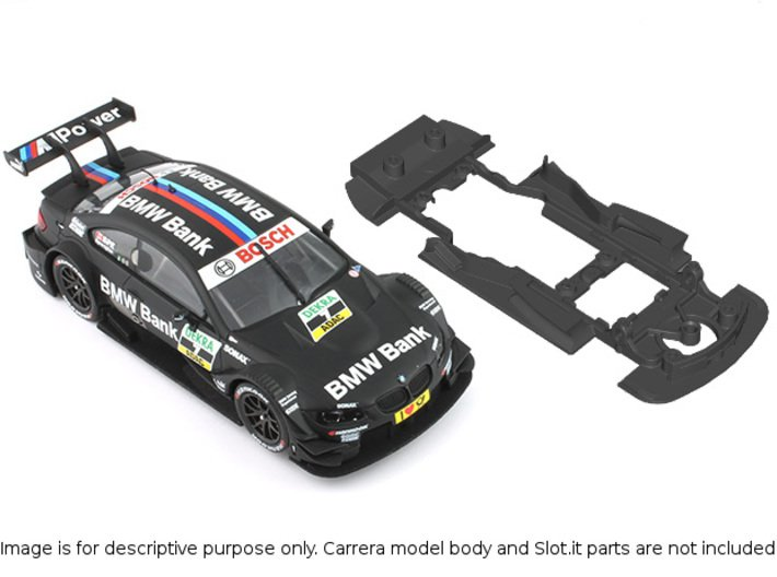 S02-ST4 Chassis for Carrera BMW M3 DTM SSD/STD 3d printed