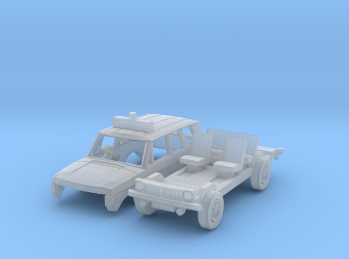 Range Rover Police (N 1:160) 3d printed