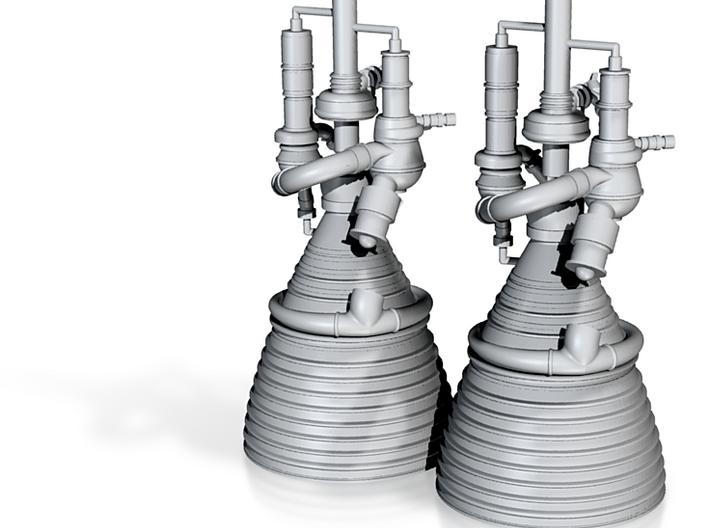 J-2 Engines (1:70 Set of 2) 3d printed