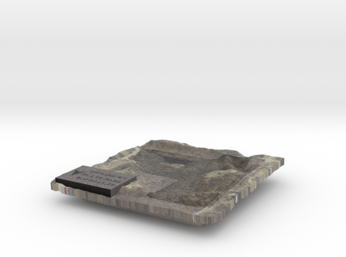Property Map - Ground Surface 3d printed