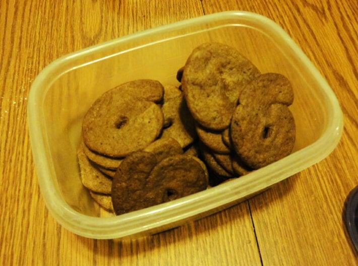 6! Cookie cutter 3d printed Yummmmmm
