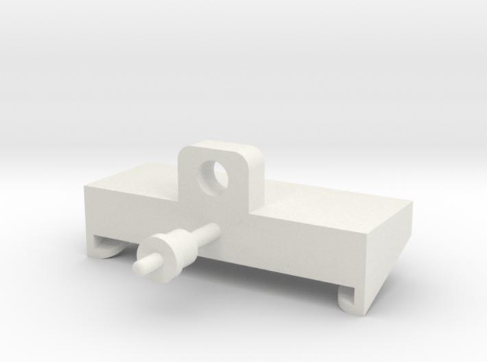 JRRCD Quick-Tach Trailer Adapter 3d printed