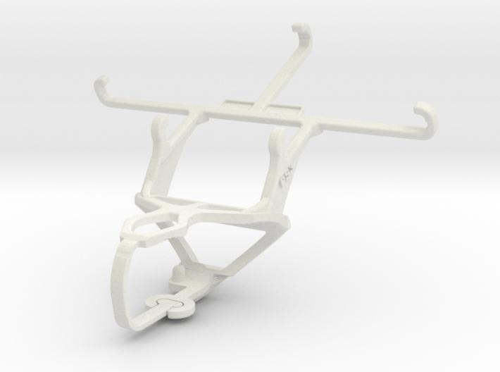 Controller mount for PS3 & Motorola DROID RAZR XT9 3d printed