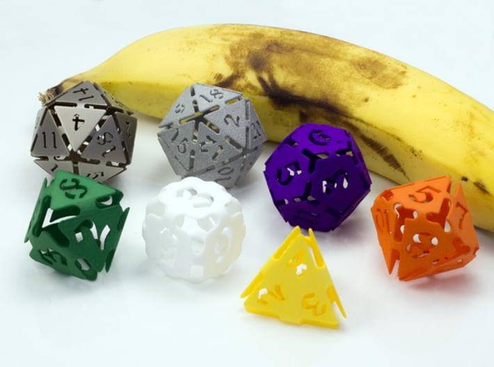 Big die 6 / d6 24mm / dice set 3d printed d6 with friends