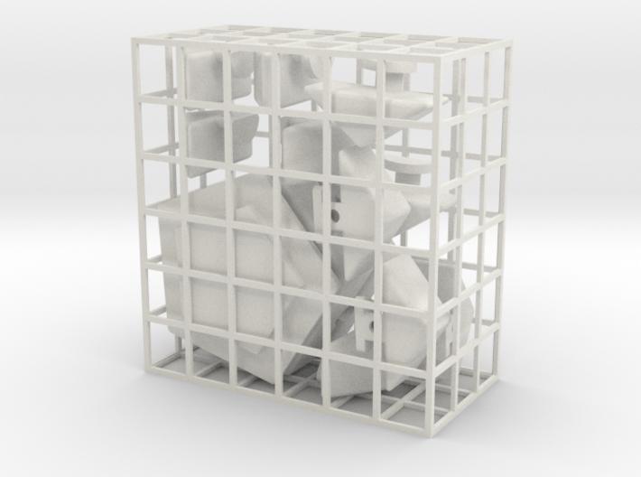 The Pentet Puzzle 3d printed