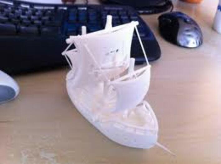 The Piratebay Pirate Ship 3d printed