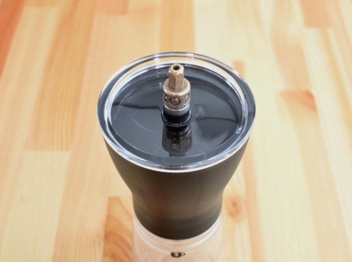 Coffee Grinder Bit For Drill Driver CDP-S 3d printed For Hario Coffee Mill Slim Grinder