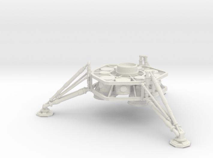 1/144 NASA/JPL ARES MARS DESCENT STAGE 3d printed