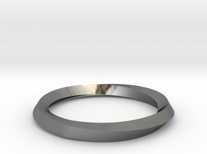 Mobius Wedding Ring-size10 3d printed