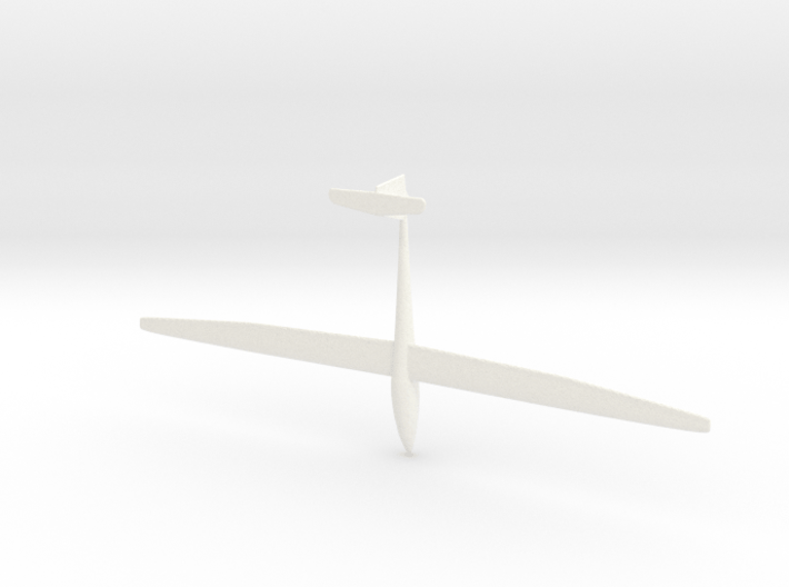 Sailplane with gear 3d printed