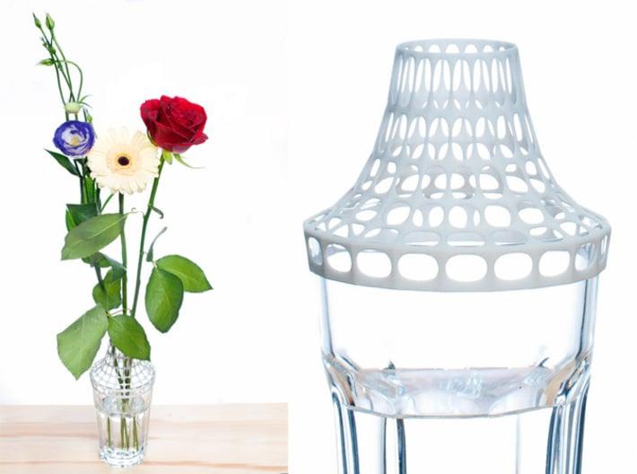 Clip on vase 3d printed Clip on vase