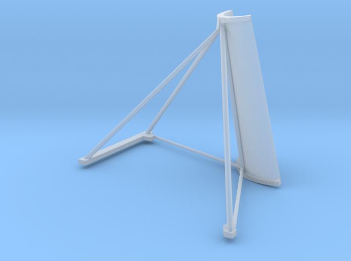 35-J mission - Plume Deflector - Quad 4 3d printed