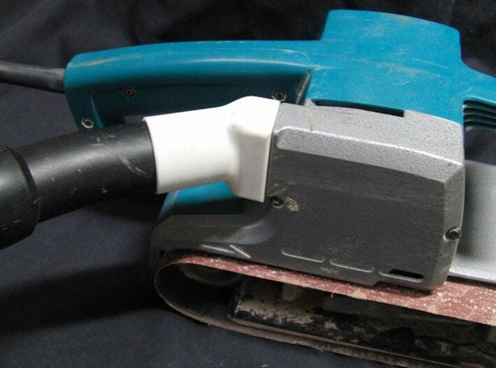 Sander Vacuum Attachment 1 3d printed Vacuum Cleaner Adaptor For Makita 9924DB Belt Sander