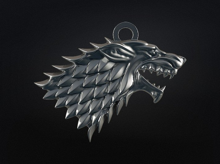 Game Of Thrones - Stark - v2 3d printed Game Of Thrones