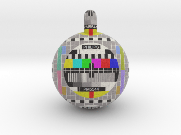 Philips PM5544 television pattern ball 20mm 3d printed