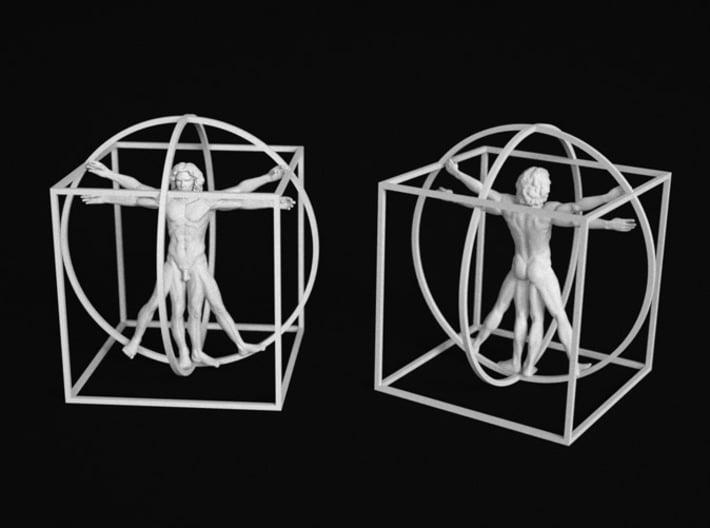 Vitruvian Man  3d printed