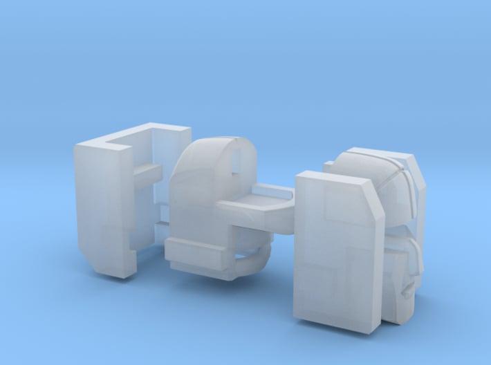 "Aerial Catapult Head G1 ""Toon"" V4 3d printed"
