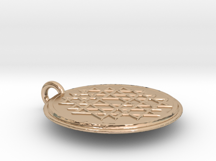 Small Yantra 3d printed