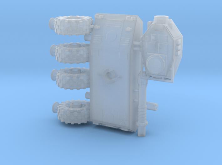 1/100 Wheeled Tiran tank 3d printed