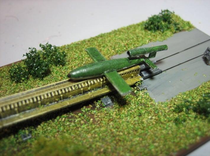 V1 Rocket 1/200 3d printed 1/285 Model shown