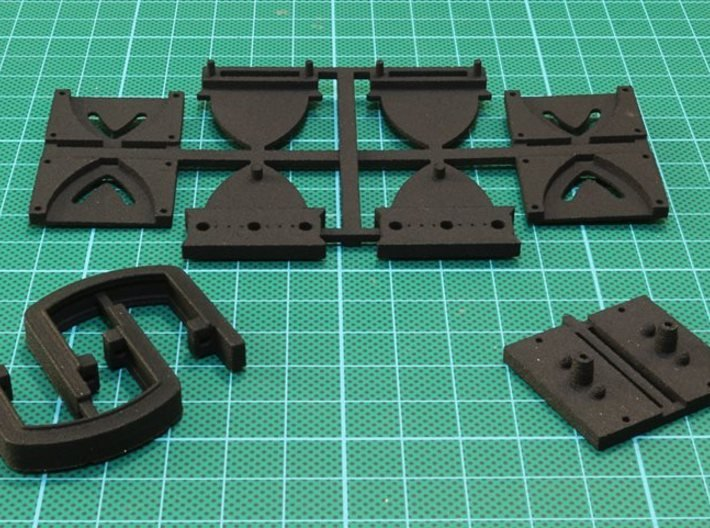 Kortkoppeling 3d printed