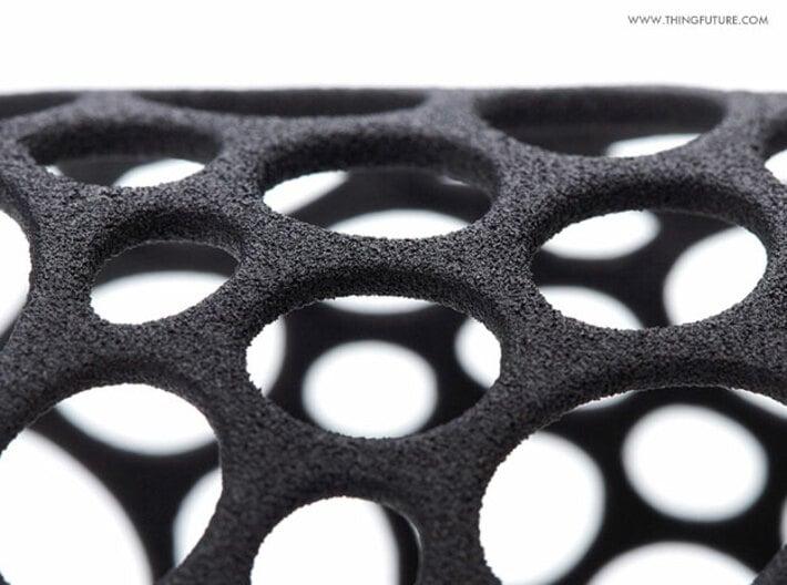Voronoi bracelet (MEDIUM) 3d printed